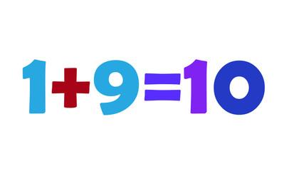 Mathematics 1+9=10