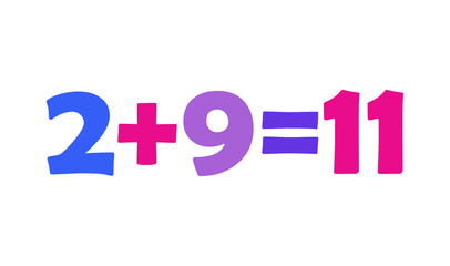 Mathematics 2+9=11