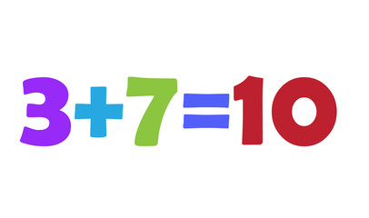 Mathematics 3+7=10