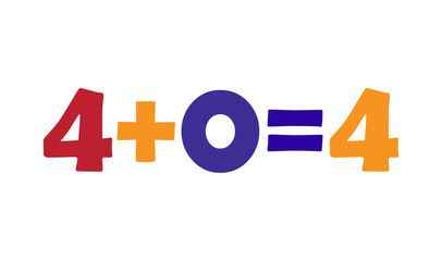 Mathematics 4+0=4