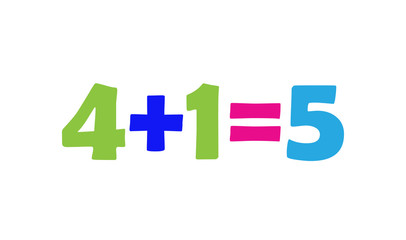 Mathematics 4+1=5