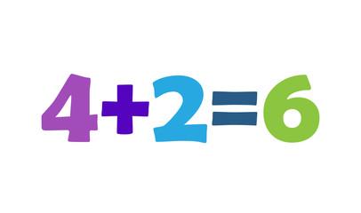 Mathematics 4+2=6