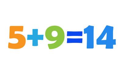 Mathematics 5+9=14
