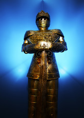 Glowing Suit of Armor