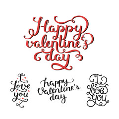 Vector Valentines day photo overlays,