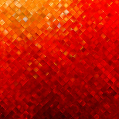 Square pattern in red and orange colors. EPS 8