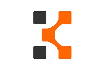 Logo Letter k