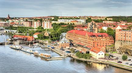 View from Älvsborg Bridge, Gothenburg