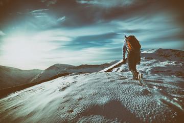 Mountain Walking Wall mural