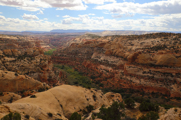 Lower Calf Creek scenery at the Grand Staircase-Escalante National Monument, Utah, USA