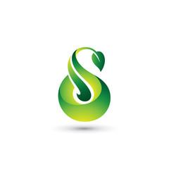 Nature Letter S Logo