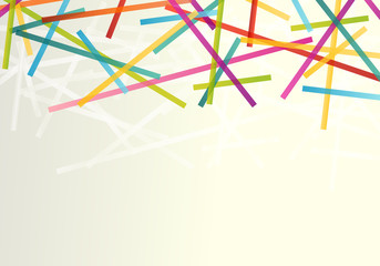 Lines abstract vector background transparent concept with copy s