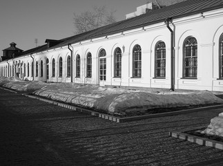 Historic buildings of  Yekaterinburg Mint and mechanical factory