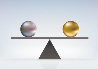 EQUILIBRE Boules-égalité