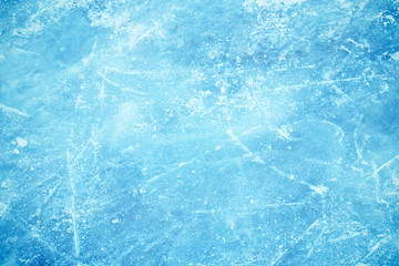 Frozen background of ice
