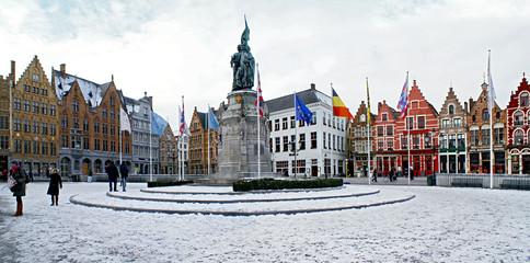 Зимний Брюгге