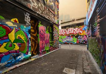 Graffiti on Hosier Lane