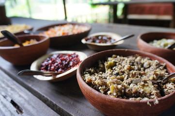 Délicieuse nourriture indienne