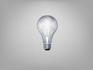 beautiful realistic illustration of light bulb