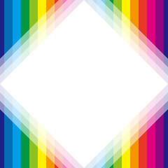 背景素材壁紙,虹色,レインボーカラー,七色,カラフル,縞模様,ストライプ,縞々,枠,フレーム,余白,