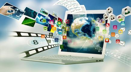 Multimedia Internet Laptop
