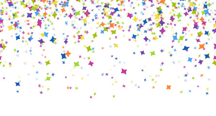 seamless confetti party background
