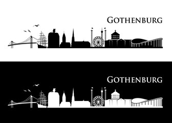 Gothenburg skyline