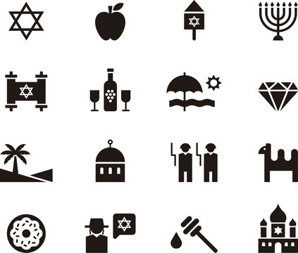 ISRAEL icon set