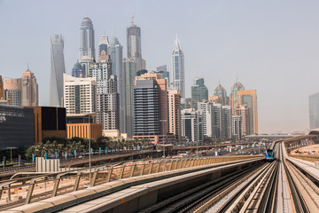 Dubai Marina Metro Station, United Arab Emirates