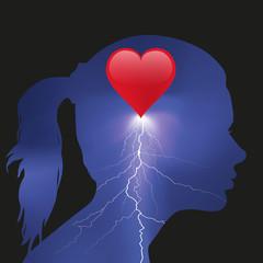chagrin d'amour - Femme