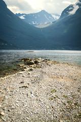 natural landscape at geirangerfjord