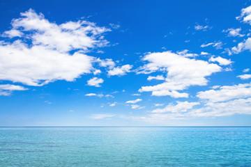바다와 하늘 Fotobehang