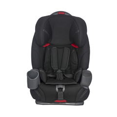 Child car seat on a white background
