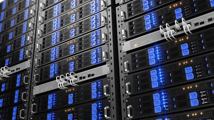 Computer rack servers