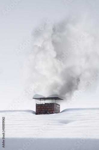 rauch aus dem kamin stockfotos und lizenzfreie bilder auf bild 100819062. Black Bedroom Furniture Sets. Home Design Ideas