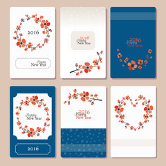 Chinese New Year Card set