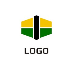 Vector of icon. Business icon for the company. This concept logo, label or badge for Oil. Gas. Construction company. Shops, salons. Other companies. Vector illustration.