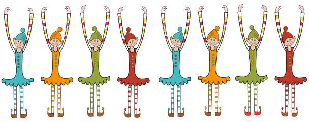 Les lutins dansant