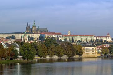 view of Prague castle