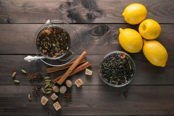relaxing evening herbal tea