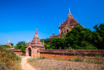Ancient temple in Bagan