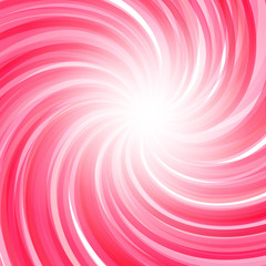 Twisted candy background. Strawberry yogurt, peppermint candy, s