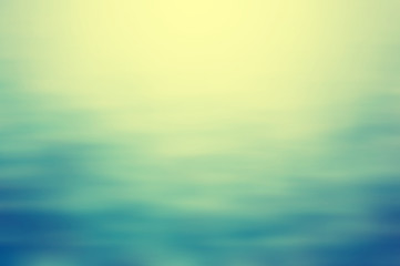 Fototapete - Clear blue water, seascape ripple abstract in blurred background