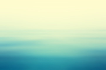 Canvas Print - Abstract clear blue water in blurred background concept