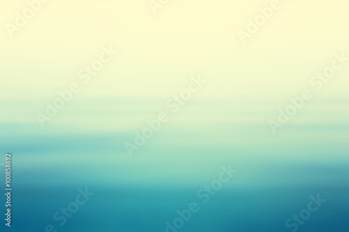 Fototapete Abstract clear blue water in blurred background concept