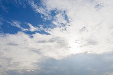 blue sky lanscape