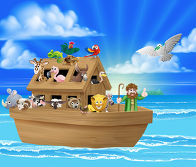 Cartoon Noahs Ark