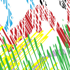 color hatching stripes line background, abstract grid texture