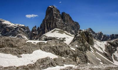 Zwölferkofel in den Sextener Dolomiten