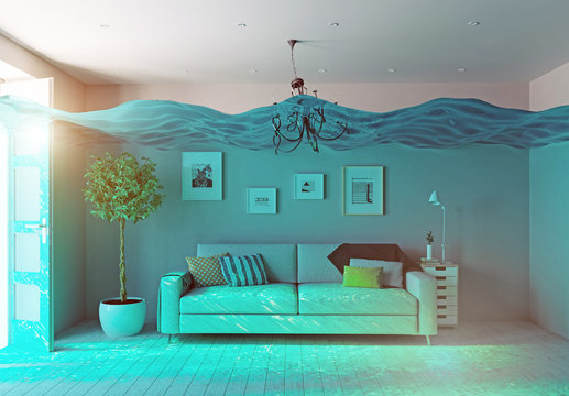 underwater  flooding interior